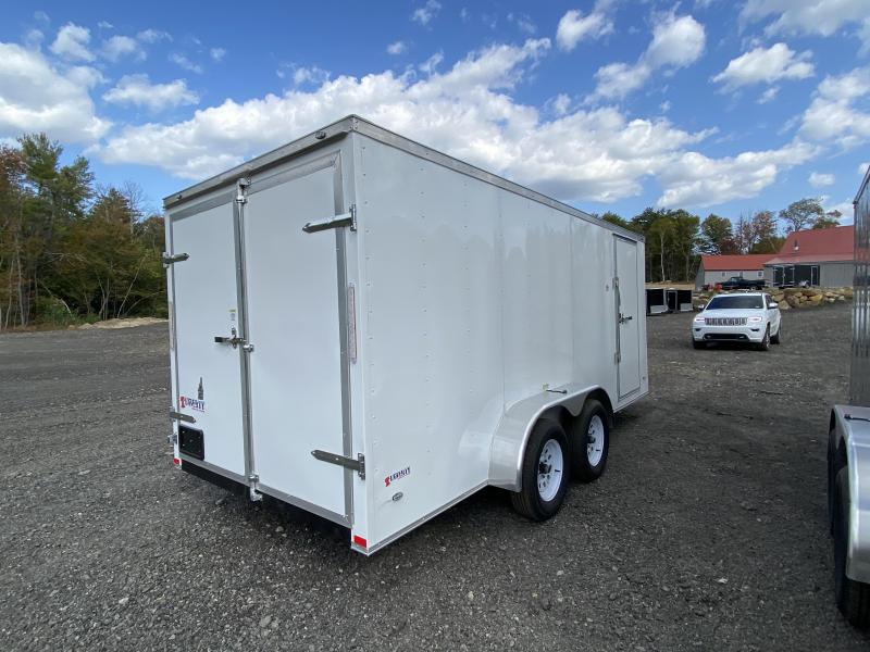 2020 Freedom Trailers 7x16 BARN DOORS Enclosed Cargo Trailer