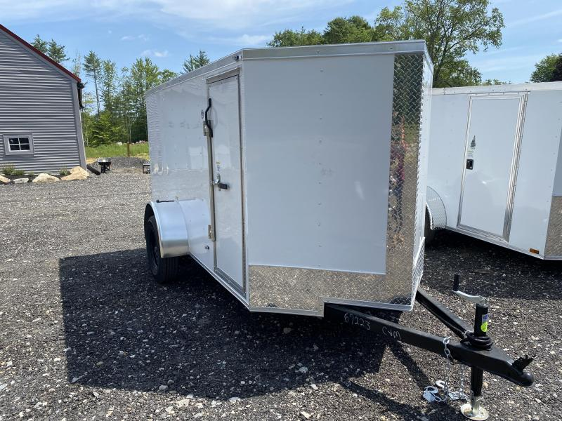 2020 Freedom Trailers 5X10 REAR RAMP Enclosed Cargo Trailer