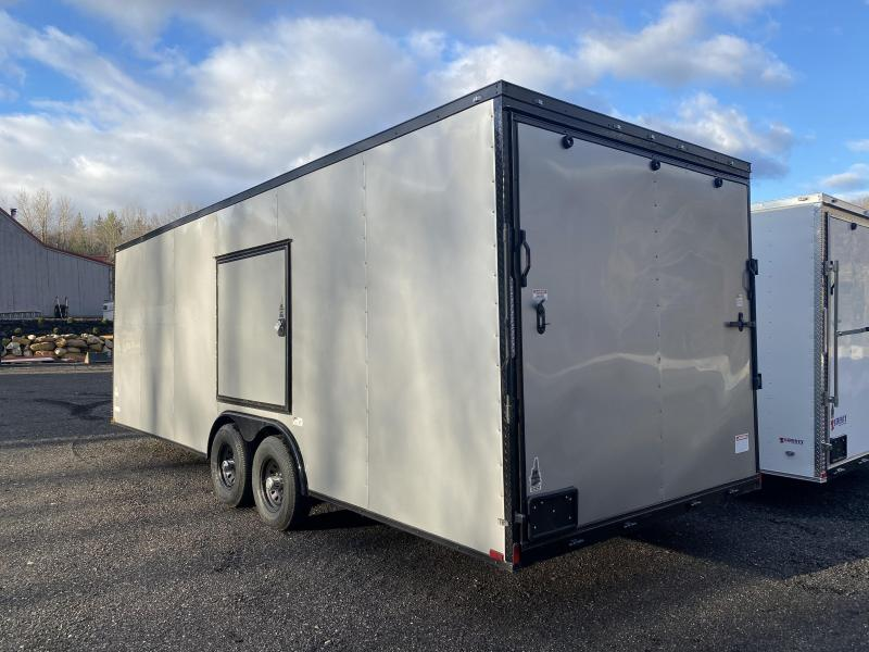 2021 Quality Cargo 8.5x24 9990GVW EXTRA HEIGHT BLACKOUT ESCAPE DOOR Enclosed Cargo Trailer