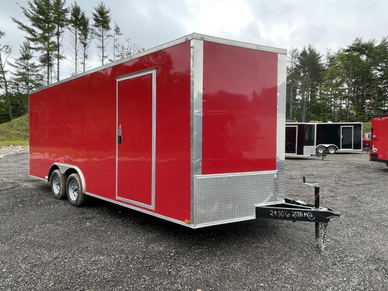 """2022 Quality Cargo 8.5x20 6"""" Extra Height Enclosed Cargo Trailer"""