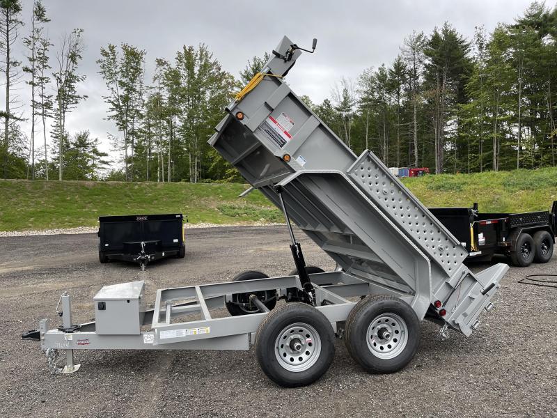 2022 Force 6x10 9800GVW LOADED Dump Trailer