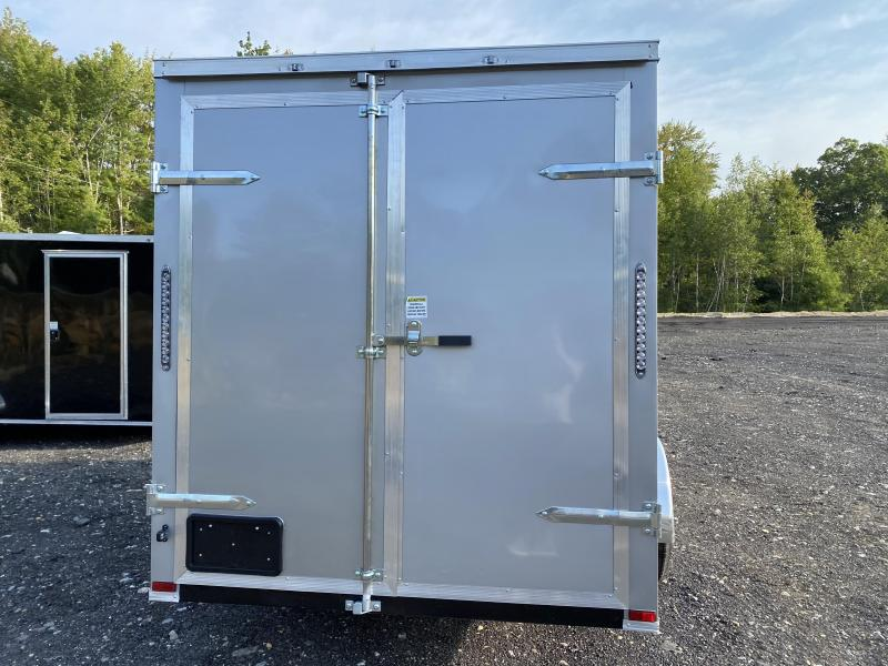 2021 Quality Cargo 6X12 BARN DOORS Enclosed Cargo Trailer