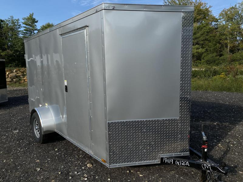 2021 Quality Cargo 6X12 BARN DOORS Enclosed Cargo Trailer