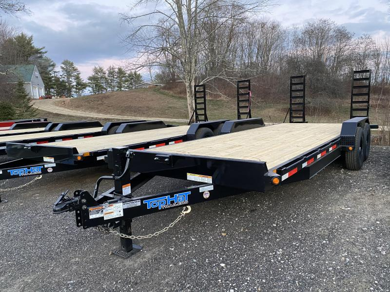 2021 Top Hat Trailers 7X22 14K GVW Equipment Trailer
