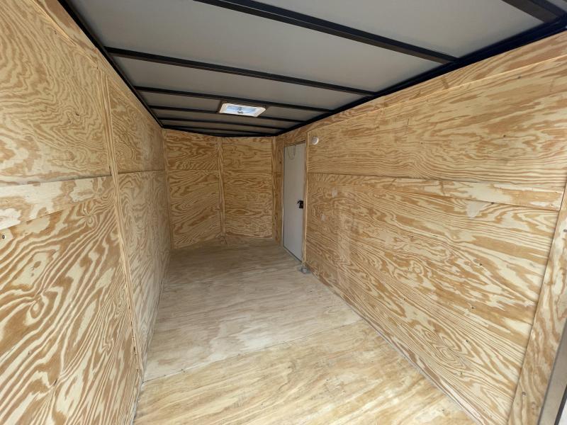 2022 Quality Cargo 6x12 White Enclosed Cargo Trailer