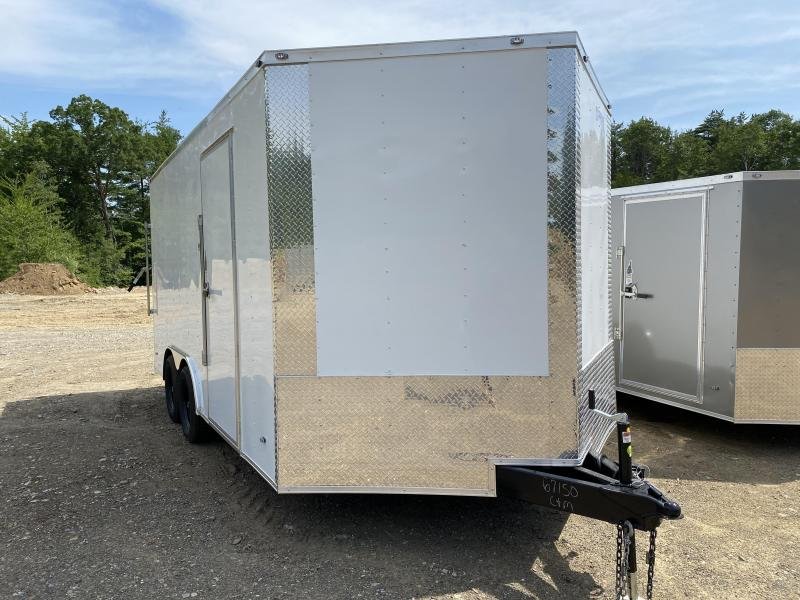 2020 Freedom Trailers 8.5X16 REAR RAMP EXTRA HEIGHT Enclosed Cargo Trailer