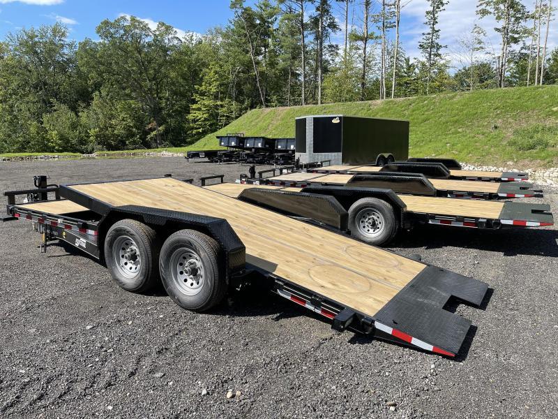 2022 Fox Trail 7x20 16+4 14K GVW TILT Equipment Trailer