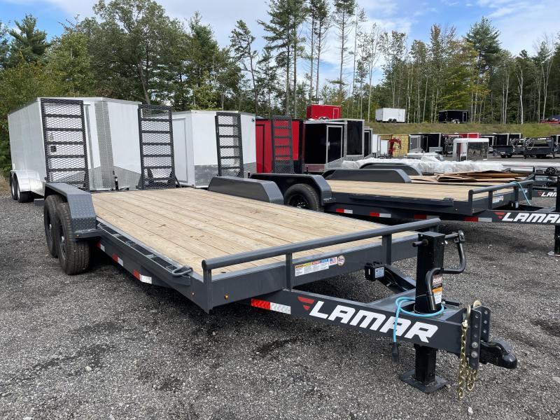 2021 Lamar Trailers 7x18 14K Equipment Trailer