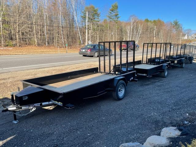 2021 Fox Trail 77X12 Utility Trailer