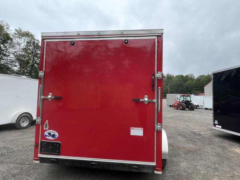 """2022 Quality Cargo 7x12 DRINGS 9"""" EXTRA HEIGHT Enclosed Cargo Trailer"""
