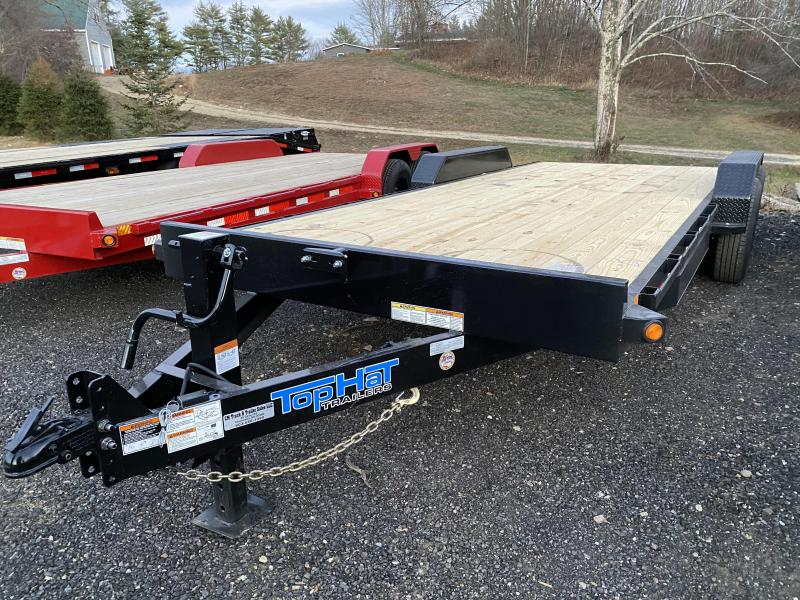 2021 Top Hat Trailers 7x20 14k removable fenders Equipment Trailer