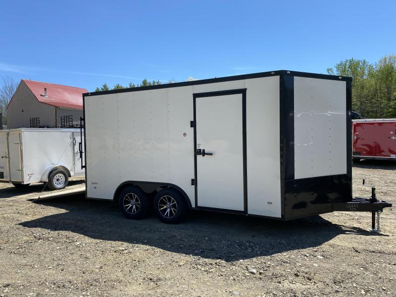 2020 Freedom Trailers 8.5x14 BLACKOUT EXTRA HEIGHT SPIDER MAGS Enclosed Cargo Trailer