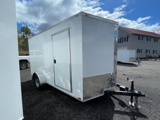 "2021 Quality Cargo 7X12 Enclosed Cargo Trailer 3"" EXTRA HEIGHT"