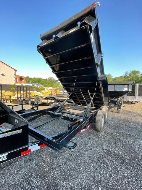 2022 Fox Trail 7X14 Dump Trailer