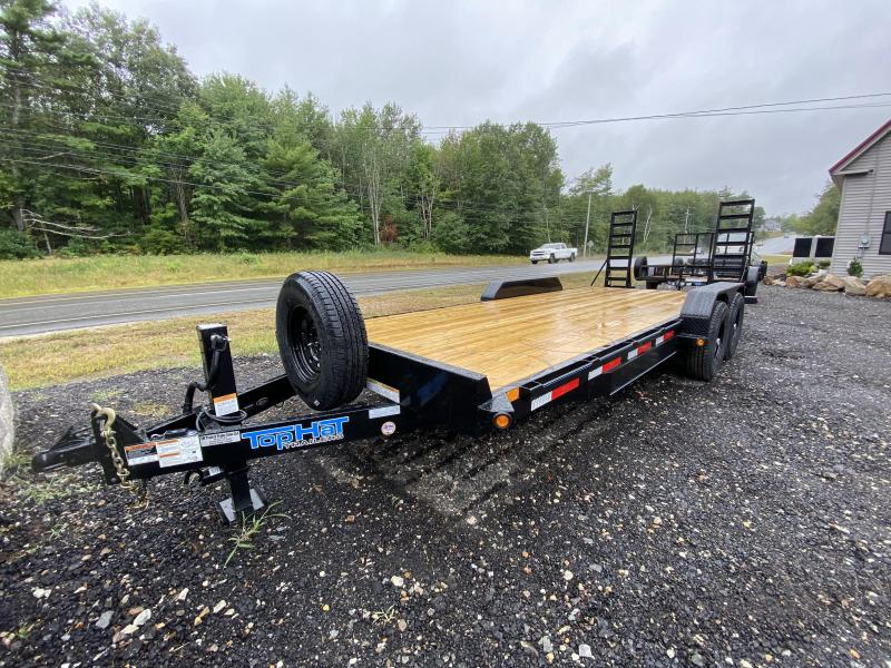2020 Top Hat Trailers 7x20 14K Equipment Trailer