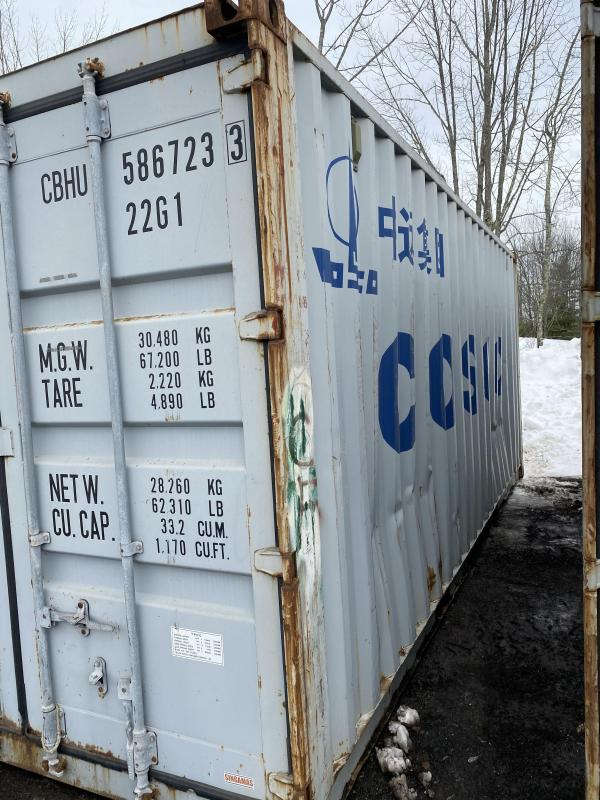 8x20 8.5 TALL STEEL SHIPPING CONTAINER