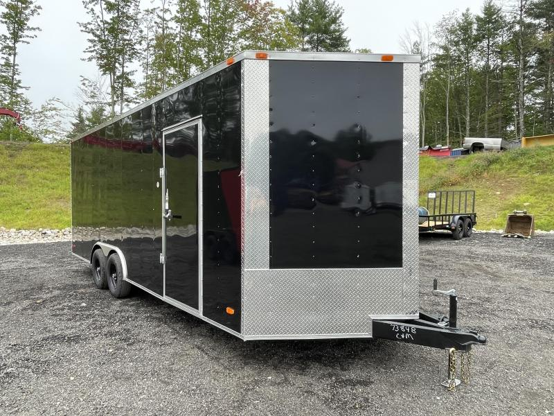 """2022 Freedom Trailers 8.5x22 12"""" Additional Height Enclosed Cargo Trailer"""