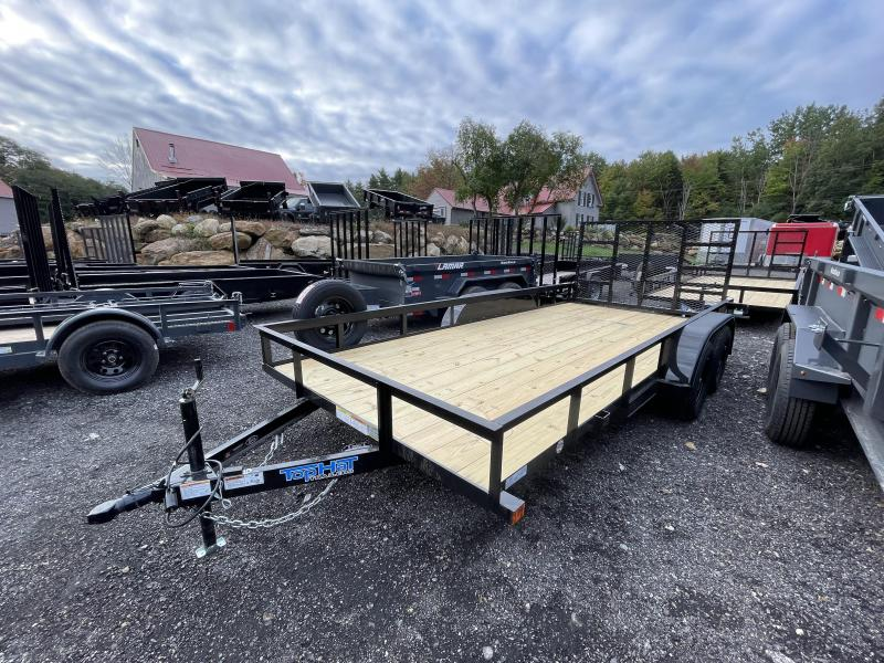 2022 Top Hat Trailers 7x16 Utility Trailer