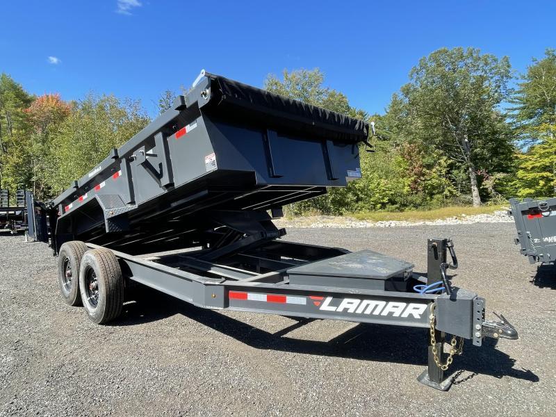 2021 Lamar Trailers 7x14 16K Tarp Kit Ramps Dump Trailer