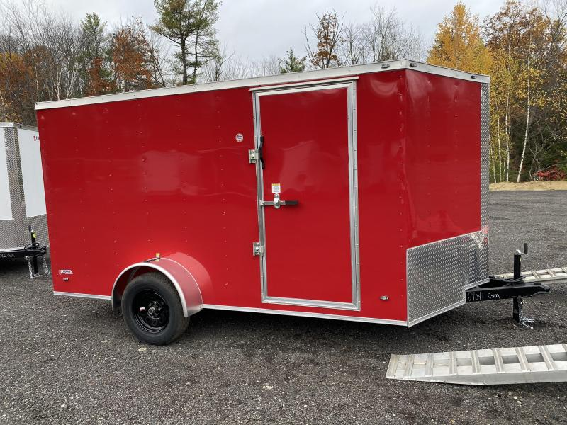 2021 Freedom Trailers 7X12 RED RAMP Enclosed Cargo Trailer