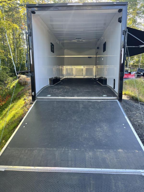 2022 Freedom Trailers 8.5X26 Radio Blackout Cabinet Enclosed Cargo Trailer