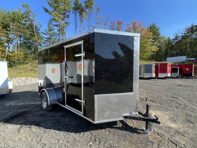 2022 Quality Cargo 6x12 Barn Doors Enclosed Cargo Trailer