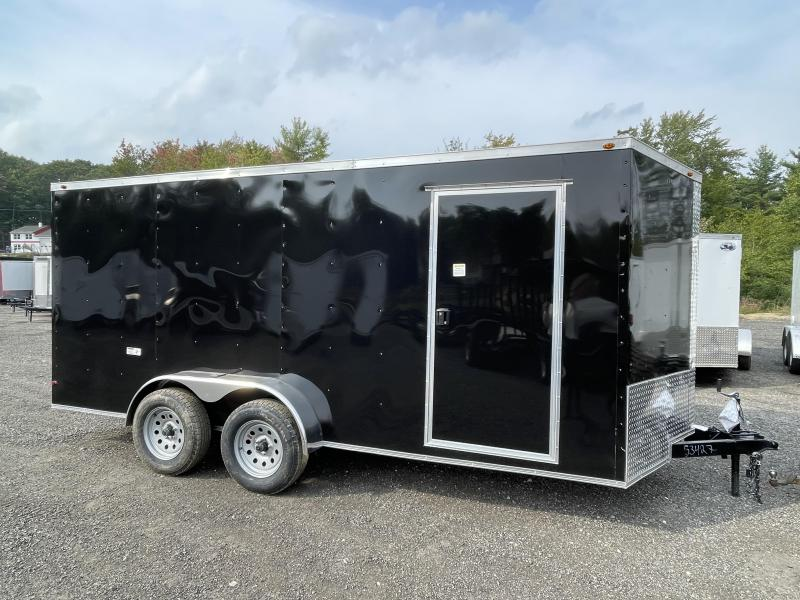 2022 South Georgia 7x16 7K Black Enclosed Cargo Trailer