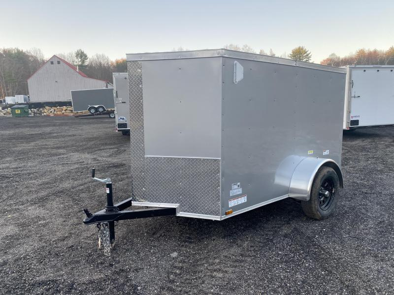 2021 Quality Cargo 5x8 ramp and side door Enclosed Cargo Trailer