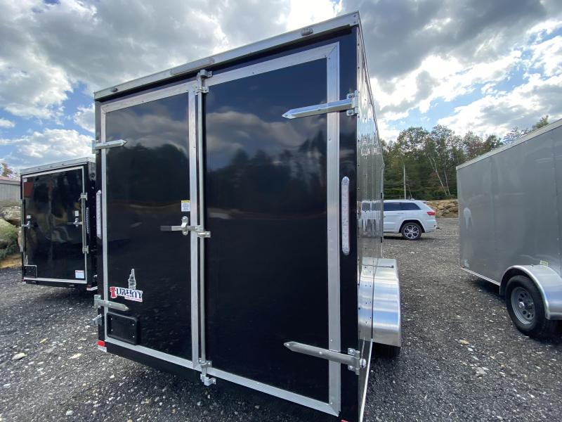 2020 Freedom Trailers 7X16 EXTRA HEIGHT BARN DOORS Enclosed Cargo Trailer