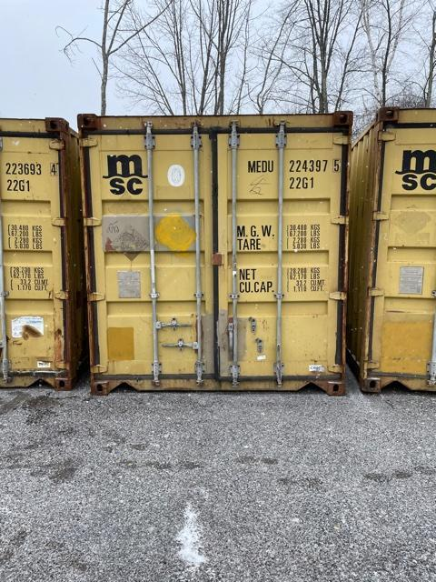 8x8.5x20 Storage Container