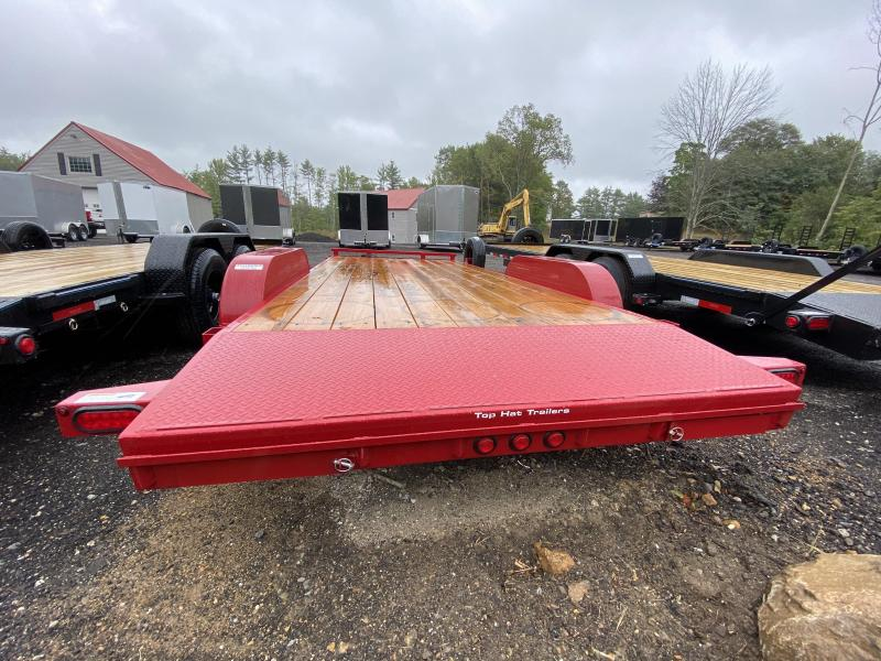 2020 Top Hat Trailers 7x18 7K RED Equipment Trailer