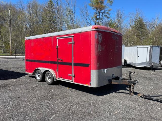 2008 Forest River 8.5X16 Enclosed Cargo Trailer