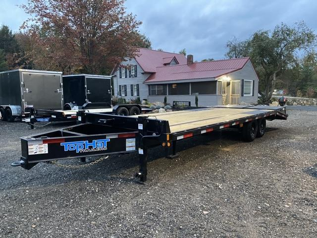 2021 Top Hat Trailers 8.5X25 Equipment Trailer