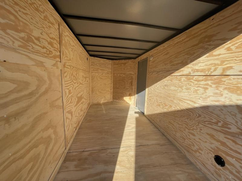 2022 Quality Cargo 6x12 Charcoal Enclosed Cargo Trailer