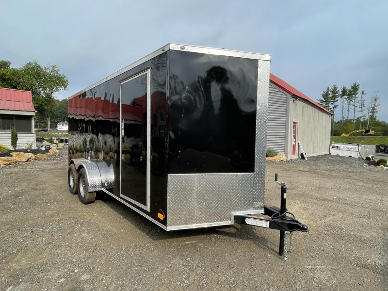 2022 NationCraft Trailers 7x16 7K Enclosed Cargo Trailer