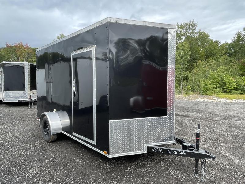 2022 Quality Cargo 7x12 7' Interior Height Enclosed Cargo Trailer