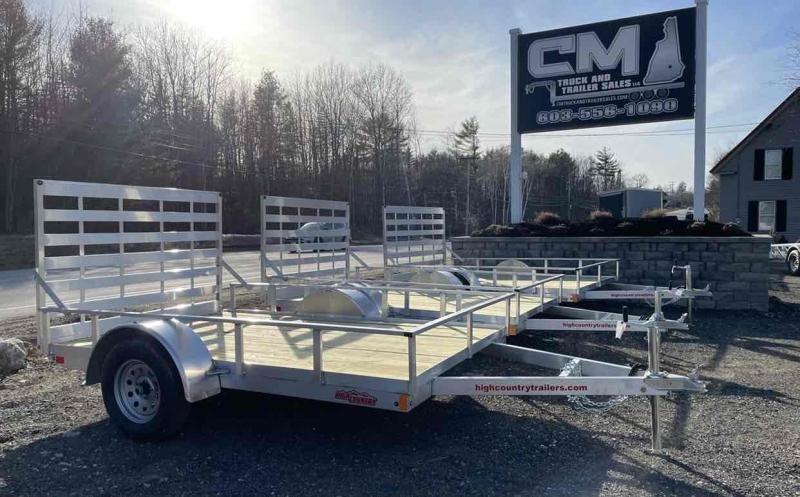 2021 High Country 6X10 ALUMINUM Utility Trailer