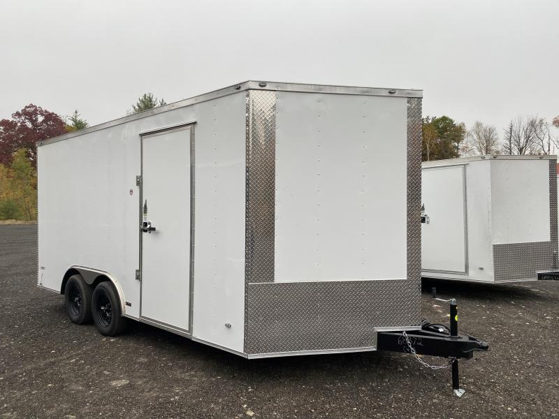 2021 Freedom Trailers 8.5X16 EXTRA TALL Enclosed Cargo Trailer