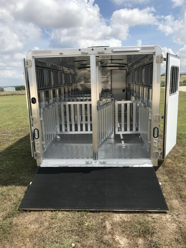 2021 Exiss Trailers Exhibitor 720W BP Livestock Trailer