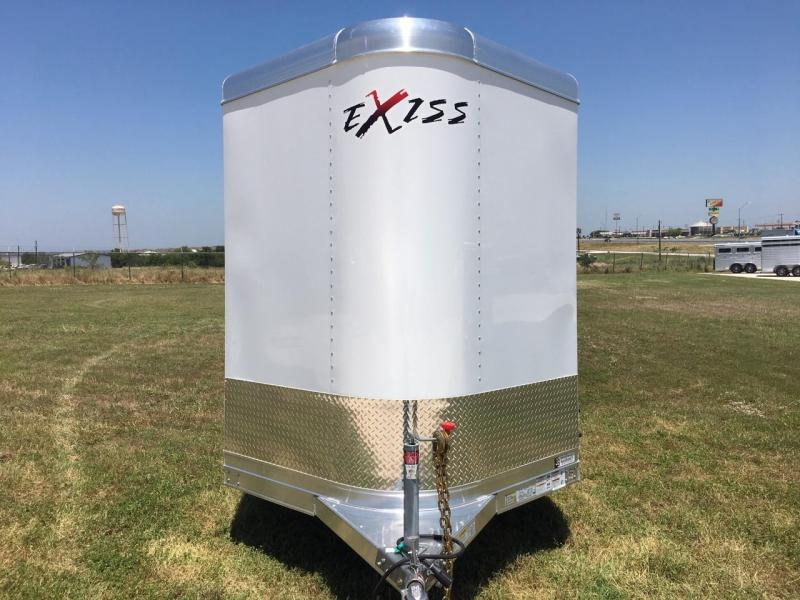 2021 Exiss Trailers STK 613 Bumper Pull Livestock Trailer
