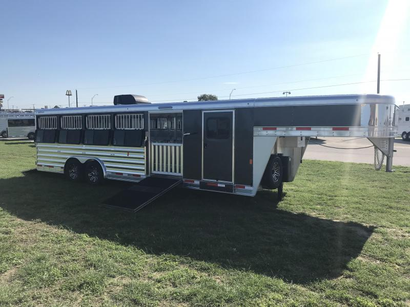 2021 Exiss Trailers Exhibitor 8026W Livestock Trailer
