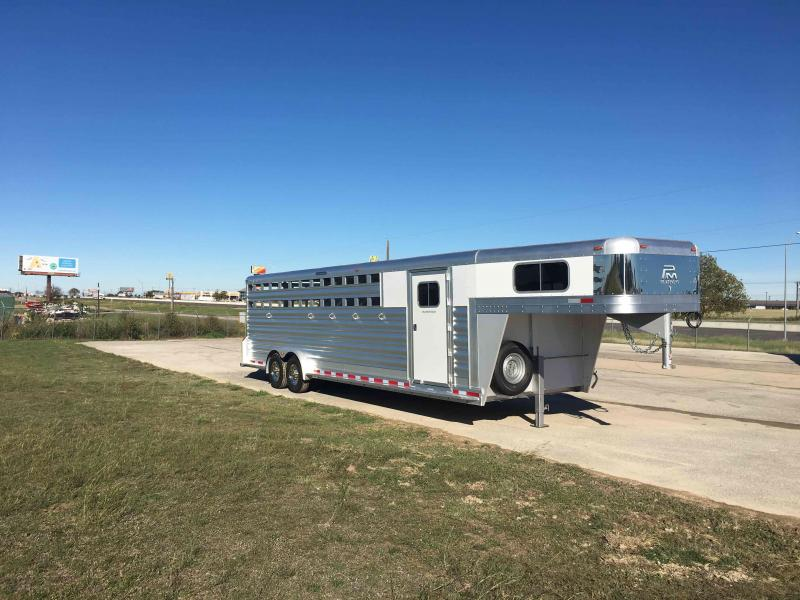 2022 Platinum Coach 6 Horse with 2 Tack Room Doors Horse Trailer
