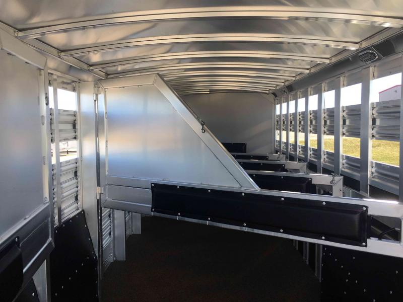 2021 Platinum Coach 6 Horse with 2 Tack Room Doors Horse Trailer
