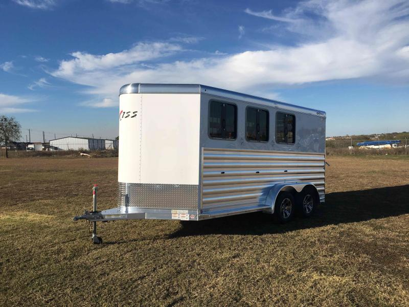 2022 Exiss Trailers 3 Horse CXF Bumper Pull Horse Trailer