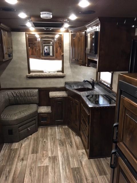 2020 Platinum Coach 4 Horse 13' LQ Reverse Load Horse Trailer