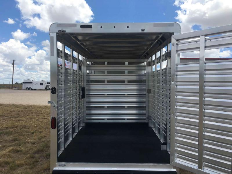 2021 Exiss Trailers Express STC 6820 Livestock Trailer