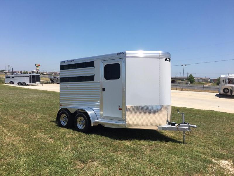 2021 CM 2 Horse Bumper Pull Horse Trailer