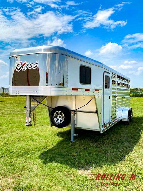 2022 Exiss Trailers STC 6820 STOCK COMBO TRAILERS