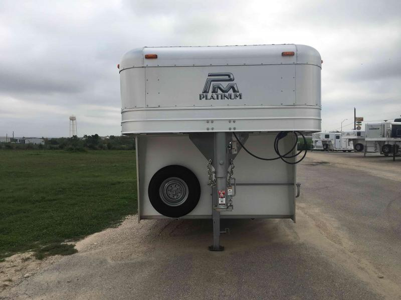 2021 Platinum Coach 24 Ft Livestock Trailer