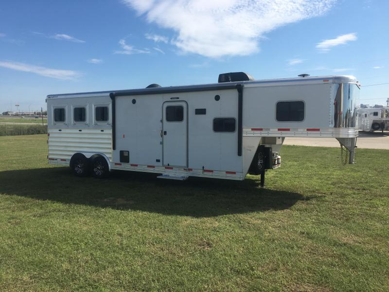 2020 Exiss Trailers Endeavor 8310 3 Horse Trailer